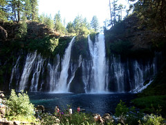 Burney Falls (nik .) Tags: volcano waterfall amazing mt falls waterfalls shasta waters frigid lassen burney