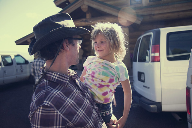 Black Mountain Colorado Dude Ranch hug