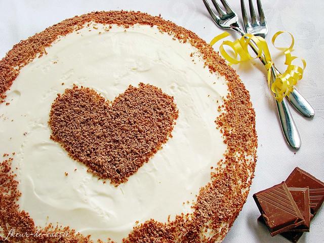 торт шоколадный со сливочным кремом 1