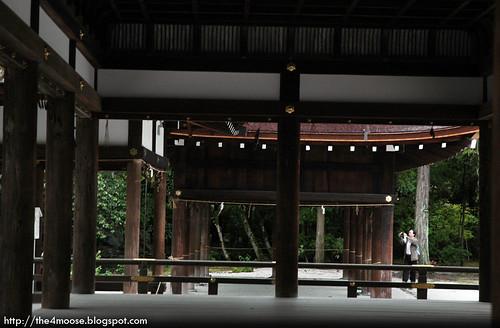 Kamigamo-jinja 上賀茂神社 - Tuchinoya from Hosodono