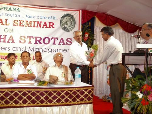 Felicitation of Dr.Ashanand