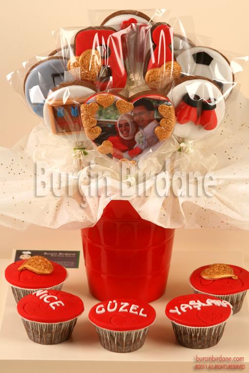 Cupcake Kurabiye Seti
