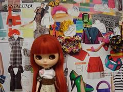 Aisha numa tarde de moda!!