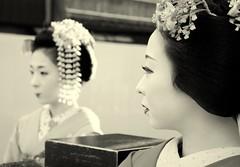 Maikos (P.E.S.H.) Tags: portrait japan kyoto maiko geisha 192dayslater