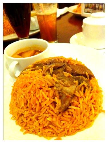 Lamb Kabsa @ Hadramawt Arabic Restaurant