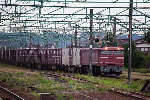EF81-135 | 宮内駅