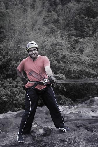 Nirmaan going down the mountain