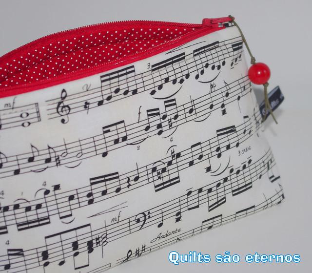Necessaire Partitura Musical