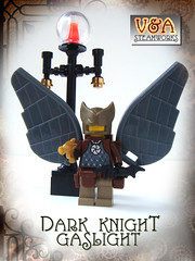 Dark Knight Gaslight (V&A Steamworks) Tags: dark lego va batman knight minifig custom steamworks gaslight steampunk moc