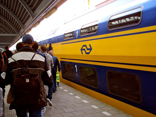Intercity Train Transfer to Amsterdam
