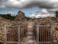 Kildrummy Castle HDR (PhilnCaz) Tags: uk greatbritain scotland unitedkingdom britain scenic historic gb processed historicscotland hdr englishheritage photomatix kildrummycastle kildrummy philncaz