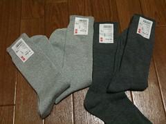 ユニクロの靴下