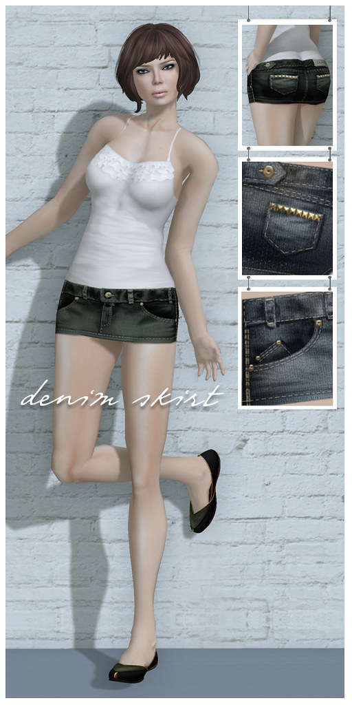 Zaara : Denim mini