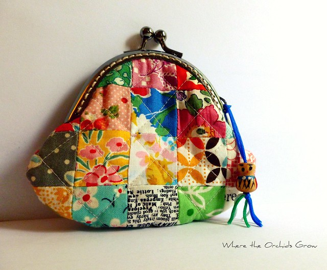 Small Patchwork Coin Purse