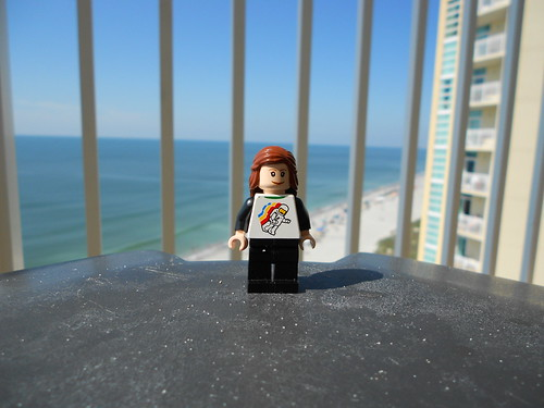 Lego on the balcony by Sarah-Mitt