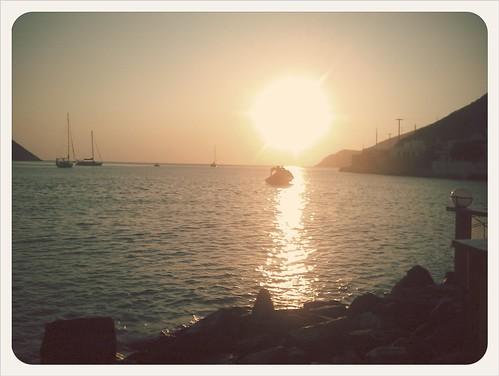 Τελευταίο ηλιοβασίλεμα στις Κυκλάδες για φέτος... Μέχρι το επόμενο...