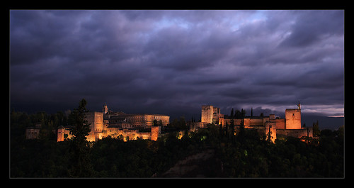 Alhambra by Night... by ZbigD