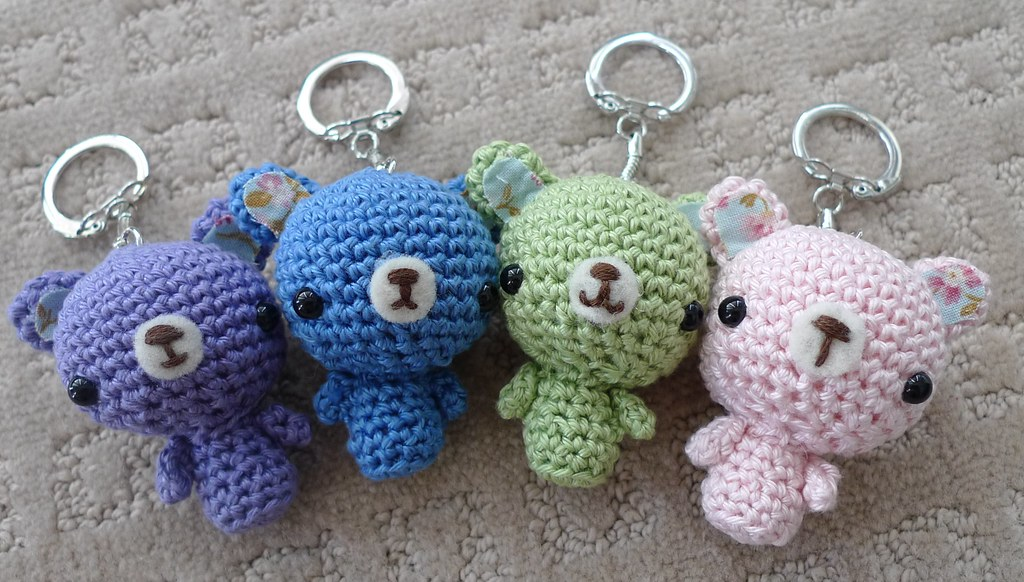 Amigurumi Crochet Keychain : The world s best photos of amigurumi and cottoncandy flickr hive