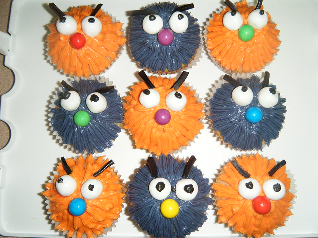 Mum'd Birthday Cupcakes