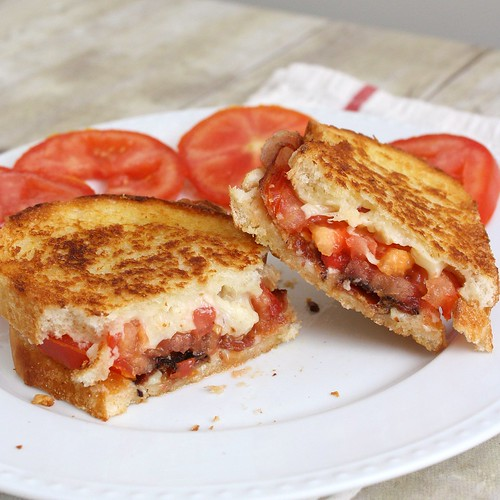 "48 Responses to ""Garlic-Rubbed Grilled Cheese with Bacon and Tomatoes"""