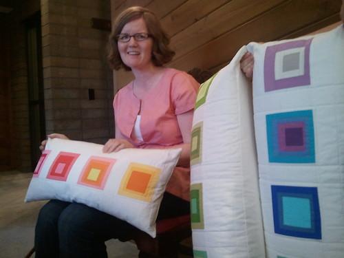 Amber's Triple Pillows