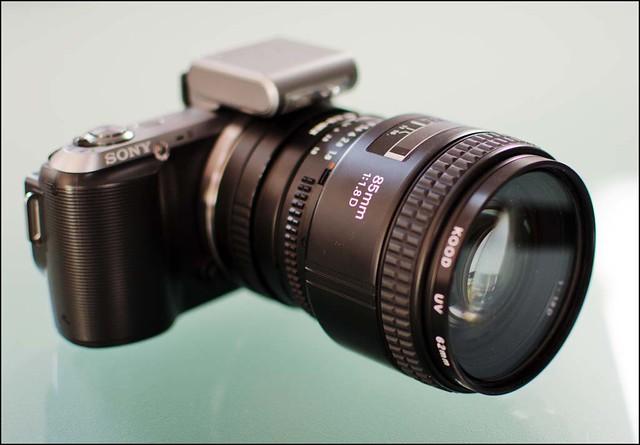 Sony NEX-C3 Nikon 85mm f/1.8