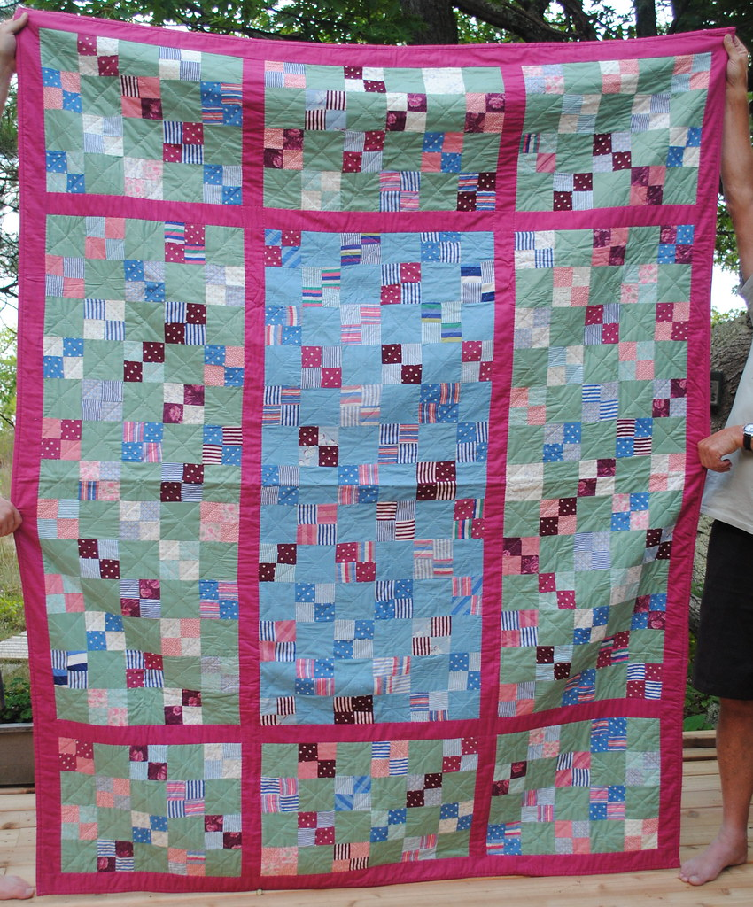 My second quilt (ca. 2003)