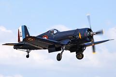 Vought F-4U Corsair F-AZYS /133704 (Andy C's Pics) Tags: duxford corsair iwm f4u vought flyinglegends duxfordflyinglegends fazys voughtf4u 133704
