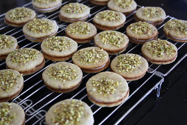 Biscotti al limone e pistaccio