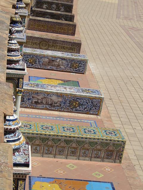 Plaza de Espana Seville countries