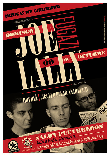 Joe Lally + normA + Circulo Polar Anarquico