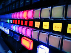 Technologic (L Carroll) Tags: work colours technology buttons infinity technologic
