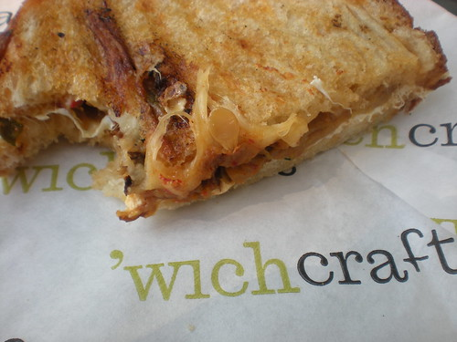Marinated zucchini 'Wich Craft sandwich