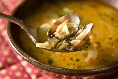 Galician seafood soup