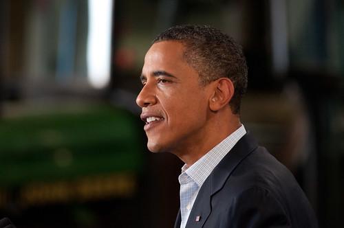 From flickr.com: Barack Obama {MID-300638}
