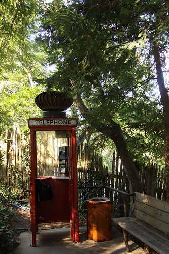 Along the Big Sur, CA - Public Phone Booth