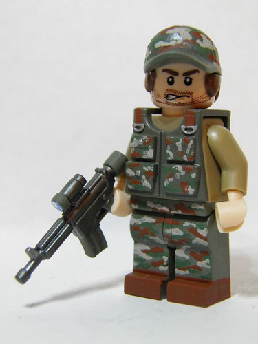 Custom minifig Special Ops Soldier