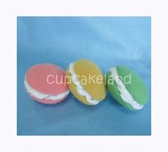 macarons (Cupcakes de tecido Cupcakeland) Tags: docesdefeltro macaronsdefeltro