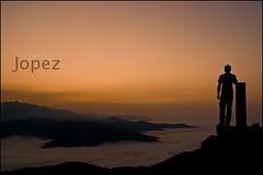 (jopez _fotografia) Tags: sunset sea fog backlight contraluz atardecer mar spain niebla cantabria montaas jorgelpez jopez