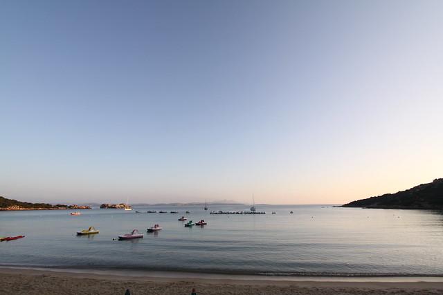 Baia Sardinia in the early morning...