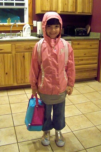 Julia's first day of second grade