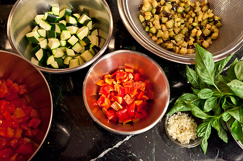 Ratatouille ingredients