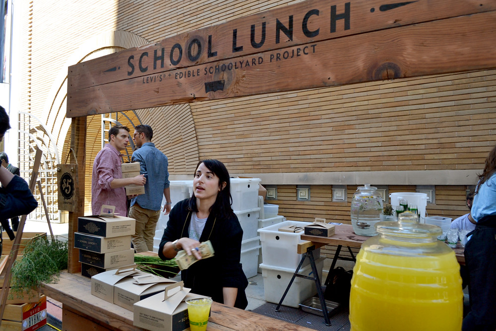 Edible Schoolyard: School Lunch