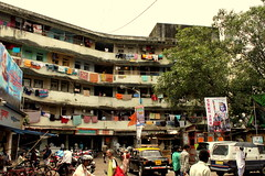 A big chawl in Kamathipura, Mumbai (jaideep.vaidya) Tags: mumbai kamathipura redlightarea biggestredlightarea