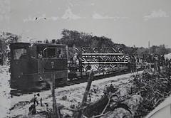 Aanleg van het spoor