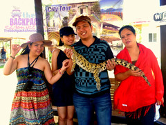 From left to right: me, ate bhing, kuya and mom (Joanna Jane Liwag) Tags: puertoprincesa palawan butterflygarden crocodilefarm bakershill plazacuartel mitrasranch palawanwildliferescueandconservationcenter palawancitytour