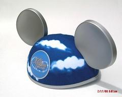2008 Disneyland Resort Year of a Million Dreams Mickey Mouse Ears Hat - Anaheim, CA (DMiyash248.) Tags: california travel white hat disneyland background board year ears resort souvenir dreams mickeymouse million anaheim 2008 matte infinityboard clouddomeinc