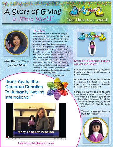 OM Times Sept 2011 - A Story of Giving