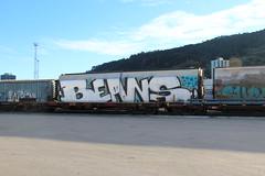 Beans (AA654) Tags: newzealand beans rail railcar nz wellington zh garaffiti 1000000railcars kiwirail