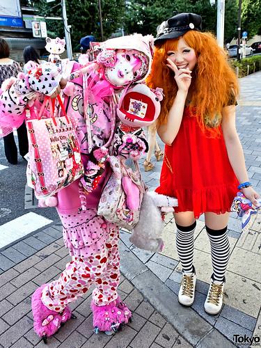 The Mask, The Puppet & The Harajuku Girl
